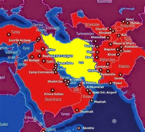 middle east map us bases the zionist drive for greater israel
