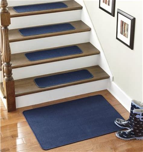 Stair Landing Rug by Set Of 4 Stair Treads Landing Rug From Montgomery Ward