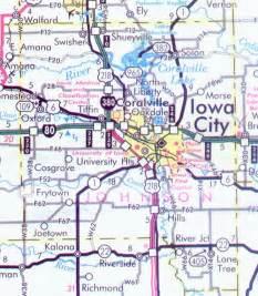 johnson county map johnson county map iowa iowa hotels motels