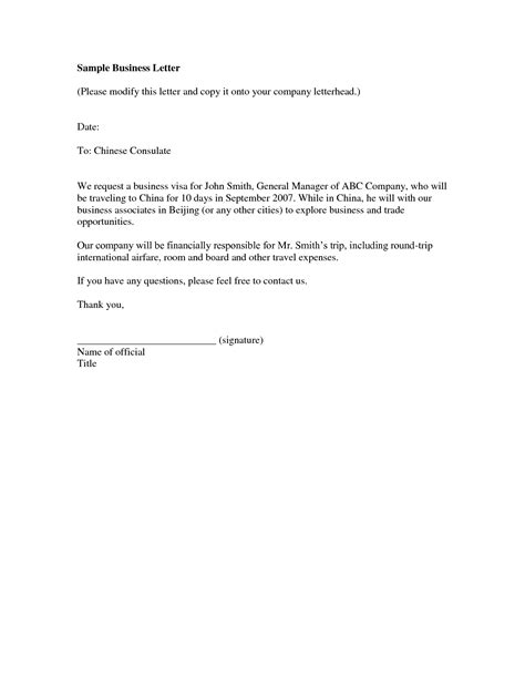 business letter sles best photos of business letter exles sle formal
