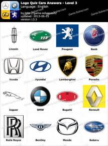 Pics photos new logo quiz answers logo quiz cars answers level 9
