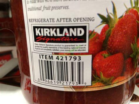 kirkland signature organic strawberry spread  ounce jar