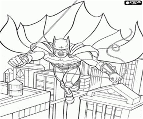 Coloriage Batman 224 Imprimer Dessin De Batman Avec Sa Batmobile L