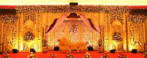 Wedding Decorators in Chennai Reception Stage & Hall Decoration