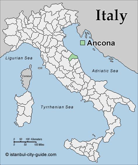 map of ancona italy ancona map and ancona satellite image