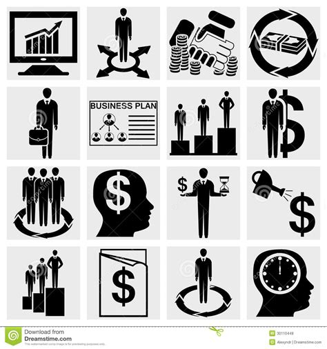 set of business icons human resource finance royalty free stock photos image 33611768 human resource finance logistic and management icons set royalty free stock photos image
