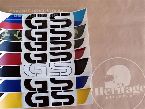 Bmw Heritage Sticker by R1150gs Adventure Tank And Rack Stickers Pair Heritage
