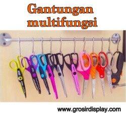 Cantelan Besi Cantelan Stainles Gantungan Aksesoris Ram Hook 20cm grosir display supplier perlengkapan display anda grosir display