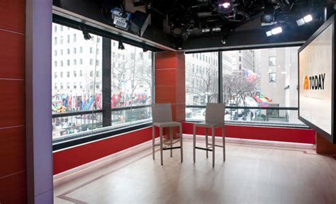 today show set today show 1aupstairs set portfolio production event