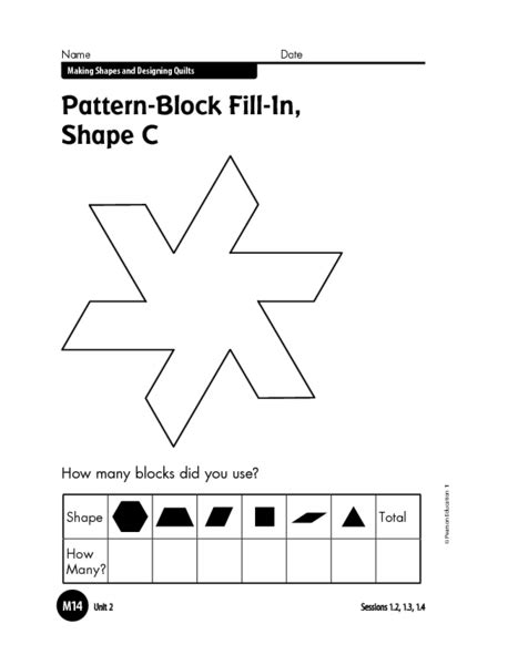 pattern block math worksheets pattern block worksheets 2nd grade math worksheets