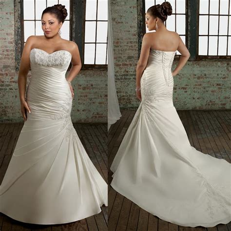 mermaid wedding dresses plus size plus size mermaid style wedding dresses quotes