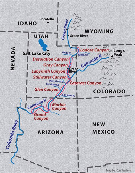 the powell expedition new discoveries about wesley powell s 1869 river journey books wesley powell map showing the canyons of the green