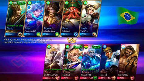 tutorial mobile legend zilong mobile legends zilong 18 3 ranqueada youtube