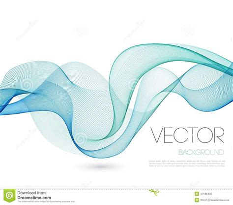 template of waves abstract wave template background brochure design stock vector image 47186405