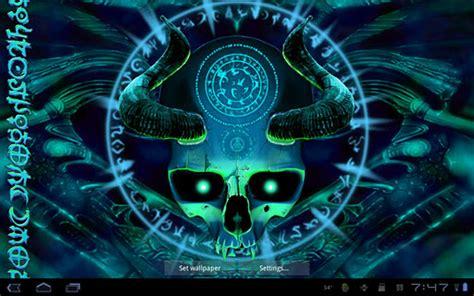skull apk mystical skull live wallpaper for android