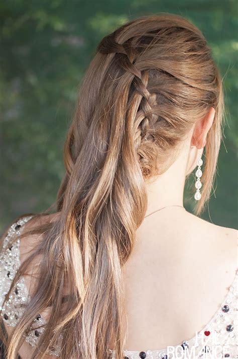 what is vertical haircut vertical waterfall braid hairstyle tutorial hair romance