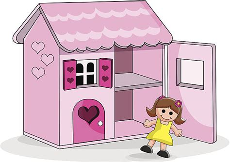 doll house clipart dollhouse clip art vector images illustrations istock