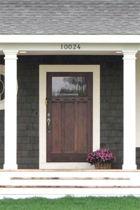 front entry front doors on cape cod yellow doors and porticos