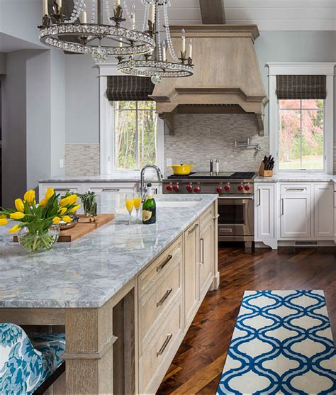 gray kitchen oak cabinets quicua