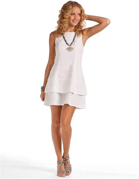 For Two Reviana Linen Dress 4 white mermaid dress white linen dress island dress island company clothes