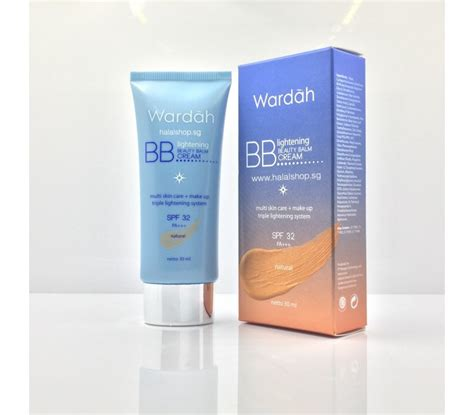 Wardah Bb Lightening Balm halal cosmetics singapore wardah lightening balm