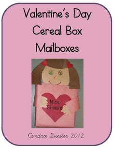 cereal box mailbox cereal box suitcase mailbox i made these with