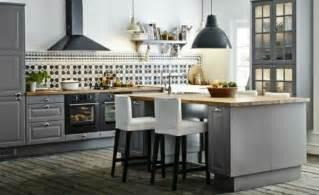 decoration de cuisine d 233 co cuisine en gris par ikea d 233 coration int 233 rieure