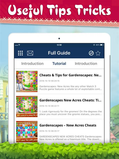 Gardenscapes Tips App Shopper Cheats For Gardenscapes New Acres Books