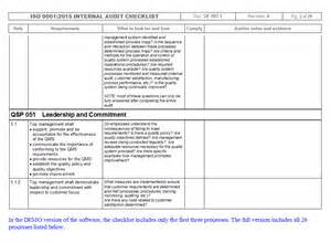 iso 9001 checklist template imsxpress iso 9001 audit checklist quality