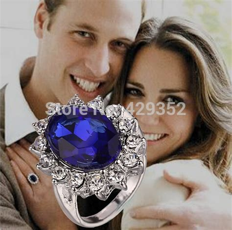 Diana Engagement Ring by Royal Family Princess Kate Engagement Ring