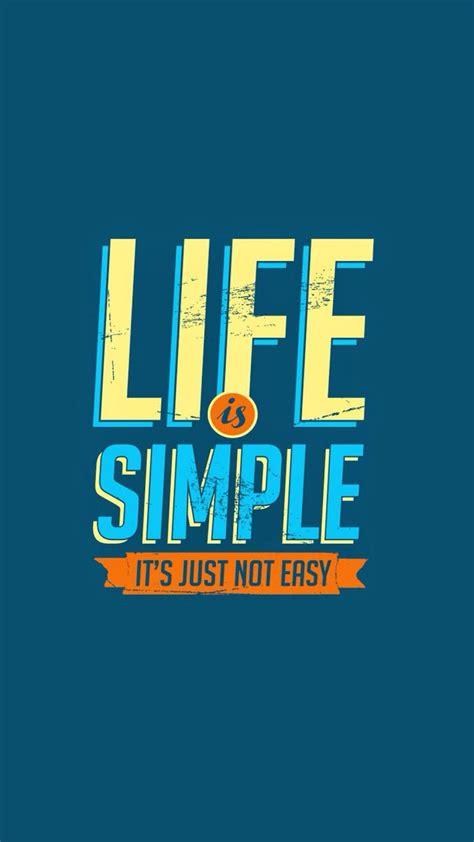life  simple  easy lifeline quotes iphone