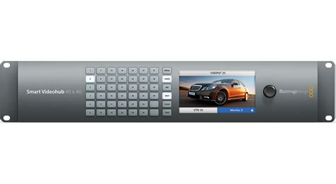 Blackmagic Design Smart Videohub 40x40 blackmagic design smart videohub 40x40 bm