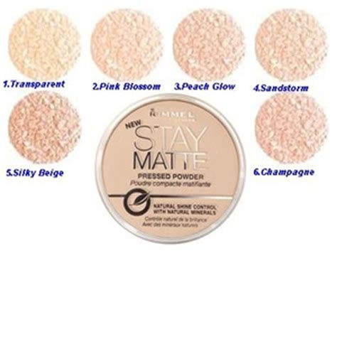 Bedak Rimmel Stay Matte Transparent jual rimmel stay matte pressed powder transparent