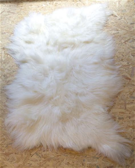 Tapis A Poil 934 by Peau De Mouton Big Moumoute Poils Longs 170 X 100 Cm