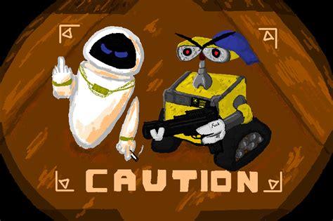film with rogue robot caution rogue robots by garytheslug on deviantart