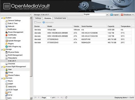 nas software build your own nas device for free using openmediavault