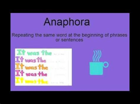 rhetorical devices in 30 seconds anaphora youtube