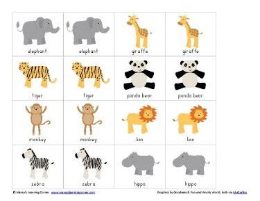 printable animal memory game cards free printable match game packet jungle animals game
