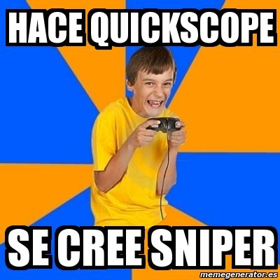 Quickscope Meme - quickscope meme 28 images esta en spectator mode bad