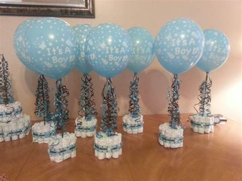 diy centerpieces for baby shower best 25 baby shower centerpieces boy ideas on