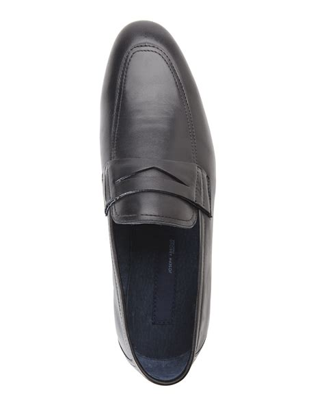 joseph abboud loafers joseph abboud black jared loafers in black for lyst
