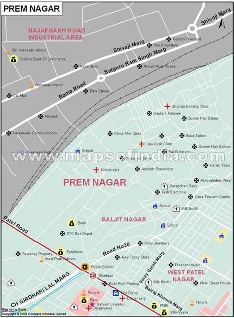Prem Nagar Map