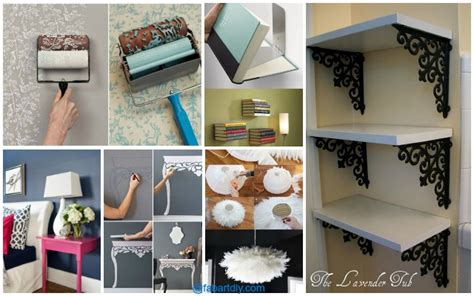 Home Decor Ideas On A Low Budget 10 Low Budget Diy Home Decoration Projects