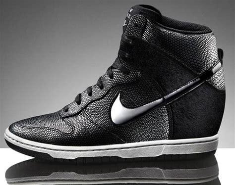 Nike Wedges Pink Sneakers Sport Casual Running Senam nike dunk sky high wedge sneakers new york i m in