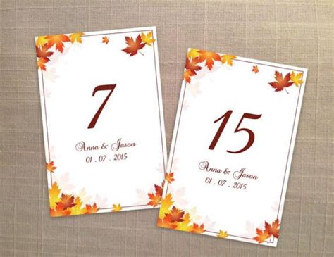 free printable wedding table number templates diy printable wedding table number template 2357710
