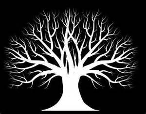 Tree Silhouette Wall Stickers 1000 ideas about tree stencil on pinterest cut out