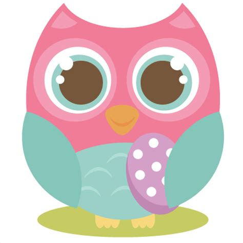 easter owl svg cutting file cute owl clipart free svg cut