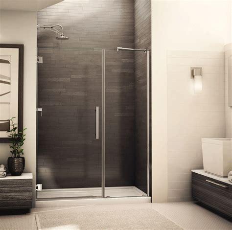 Fleurco Shower Doors Fleurco Shower Door Platinum Kara Door And Panel Bliss Bath Kitchen