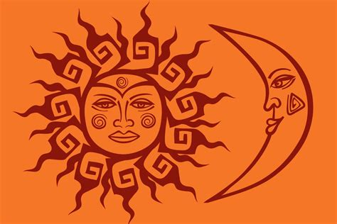 tribal moon and sun tattoos tribal sun tattoos