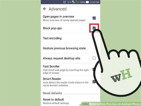pop up ads on android 5 ways to stop pop ups on android phone wikihow